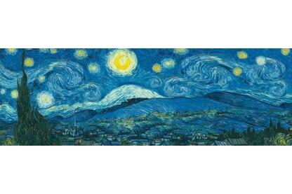 EuroGraphics 6010-5309 - Panoráma puzzle - Starry Night Panorama, Van Gogh - 1000 db-os puzzle