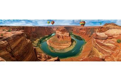 EuroGraphics 6010-5371 - Panoráma puzzle - AirPano - Horseshoe Bend, Arizona - 1000 db-os puzzle