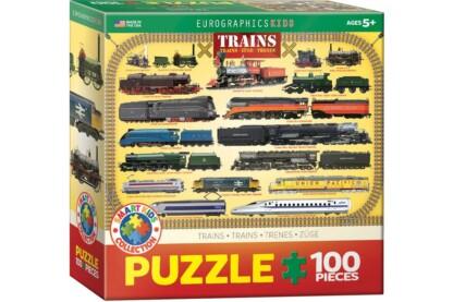 EuroGraphics 6100-0090 - Trains - 100 db-os XL puzzle
