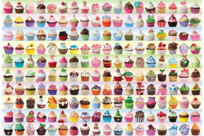 EuroGraphics 8220-0629 - Cupcakes Galore - 2000 db-os puzzle