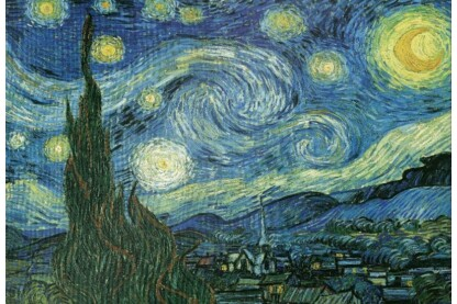 EuroGraphics 8220-1204 - Starry Night, Van Gogh - 2000 db-os puzzle