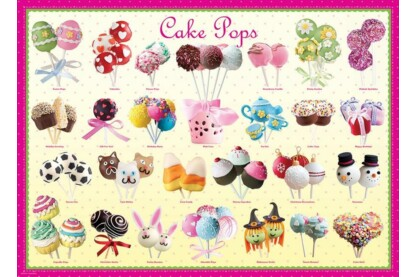 EuroGraphics 8300-0518 - Cake pops - 300 db-os XL puzzle