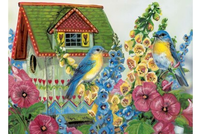 EuroGraphics 8300-0603 - Country Cottage - 300 db-os XL puzzle