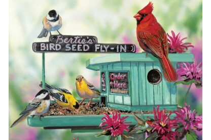 EuroGraphics 8300-0604 - Bertie's Bird Seed Fly-In - 300 db-os XL puzzle
