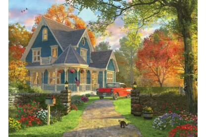EuroGraphics 6000-0978 - The Blue Country House, Dominic Davison - 1000 db-os puzzle