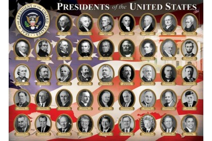 EuroGraphics 8300-1432 - Presidents of the US - 300 db-os XL puzzle