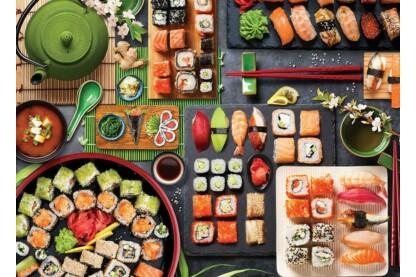 EuroGraphics 6000-5618 - Sushi Table - 1000 db-os puzzle