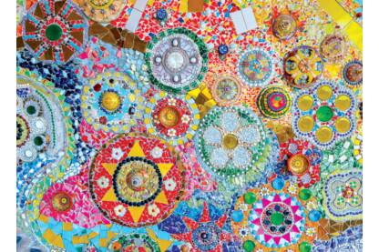 EuroGraphics 6000-5637 - Thailand Mosaics - 1000 db-os puzzle