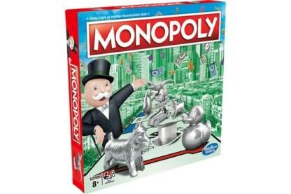 Hasbro - Monopoly Klasszikus társasjáték - új bábukkal (C1009)