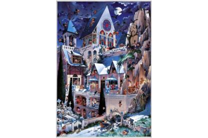 Heye 26127 - Triangular puzzle - A horror vára, Loup - 2000 db-os puzzle