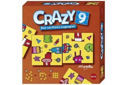 Heye 28503 - Heye puzzle Crazy9 - Burgerman Doddles - logikai játék