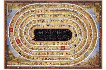Heye 29341 - Triangular puzzle - Historia Comica, Marino Degano - 4000 db-os puzzle