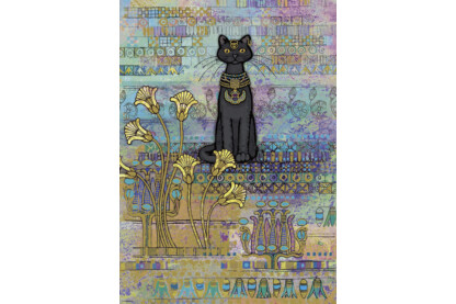 Heye 29536 - Cats Egyptian, Crowther - 1000 db-os puzzle