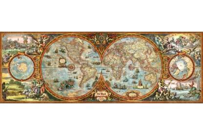 Heye 29615 - Panoráma puzzle - A világ, Zigic - 6000 db-os puzzle
