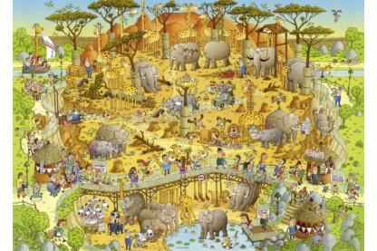 Heye 29639 - Afrikai élőhely - 1000 db-os puzzle