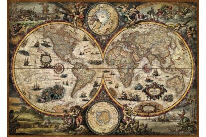 Heye 29666 - Vintage World, Zigic - 2000 db-os puzzle