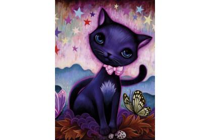 Heye 29687 - Dreaming - Fekete cica, Ketner - 1000 db-os puzzle