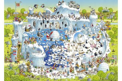 Heye 29692 - Sarkvidéki élőhely - 1000 db-os puzzle