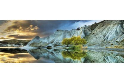 Heye 29715 - Panoráma puzzle - Kék tó, Edition Humboldt - 1000 db-os puzzle