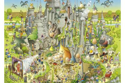 Heye 29727 - Dinoszauruszok élőhelye - 1000 db-os puzzle