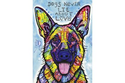 Heye 29732 - A kutyák soha nem hazudnak - 1000 db-os puzzle