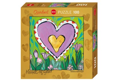 Heye 29764 - Quadrat puzzle - Hearts of Gold -  Spring - 100 db-os puzzle