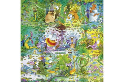 Heye 29799 - Quadrat puzzle - Cartoon Classics -  Wildlife, Mordillo  - 1000 db-os puzzle