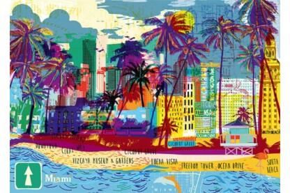 Heye 29802 - City Life - I love Miami  - 1000 db-os puzzle
