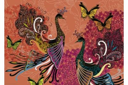 Heye 29821 - Peacocks & Butterflies, Turnowsky - 1000 db-os puzzle