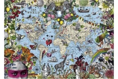 Heye 29913 - Quirky World, Pabuku - 2000 db-os puzzle