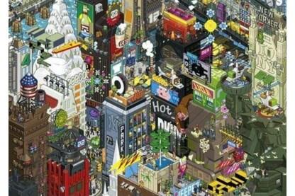 Heye 29914 - Pixorama - New York Quest - 1000 db-os puzzle