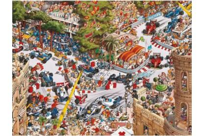 Heye 29923- Triangular puzzle - Monaco Classics, Loup - 1500 db-os puzzle