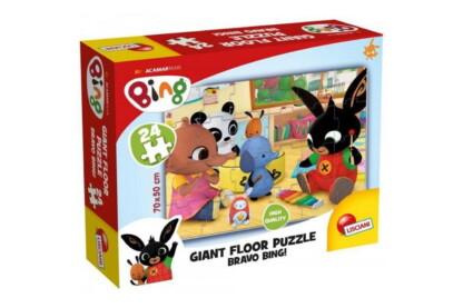 Lisciani 75805 - Bing - Bravo Bing! - 24 db-os Floor puzzle