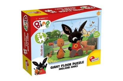 Lisciani 75812 - Bing - Legjobb barátok! - 24 db-os Floor puzzle