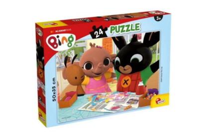 Lisciani 77984 - Bing - Szórakozzunk együtt! - 24 db-os puzzle