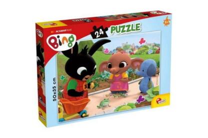 Lisciani 77991 -  Bing - A béka - 24 db-os puzzle