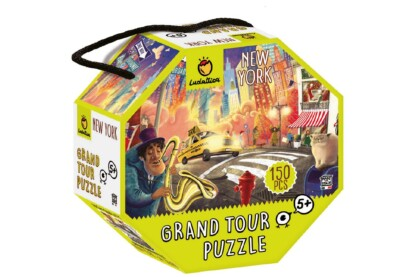 Ludattica 71302 - Grand Tour Puzzle - New York - 150 db-os puzzle