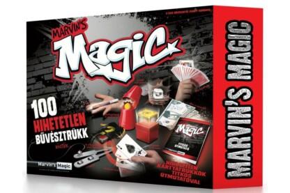 Marvin's Magic Szemfényvesztő mágikus készlet 100 trükkel (MMB5703)