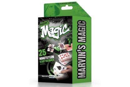 Marvin's Magic Szemfényvesztő mágikus készlet - Hihetetlen kártya trükkök (MMB5706)