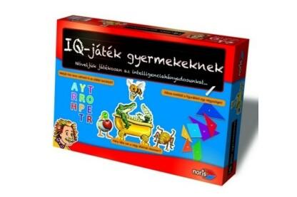 Noris 6013706 - IQ játék gyerekeknek oktató társasjáték