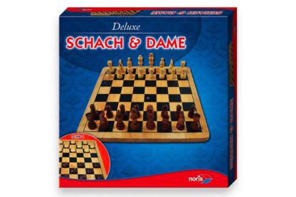 Noris 6104577 - Fa sakk és dáma játék