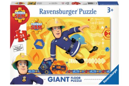 Ravensburger 05446- Sam, a tűzoltó - 24 db-os Floor puzzle