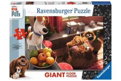 Ravensburger 05483 -  A kis kedvencek titkos élete - 24 db-os Floor puzzle