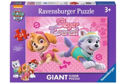 Ravensburger 05498 - Mancs őrjárat - Skye és Everest - 24 db-os Floor puzzle