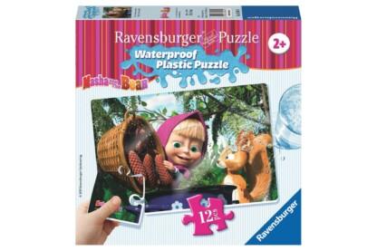 Ravensburger 05604 - Mása és a medve - Mása és a mókus - 12 db-os Vízálló puzzle