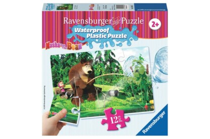 Ravensburger 05605 - Mása és a medve - Horgászat - 12 db-os Vízálló puzzle
