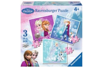 Ravensburger 07003 - Jégvarázs - 3 az 1-ben (25,36,49 db-os) puzzle