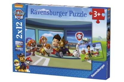 Ravensburger 07598 - Mancs őrjárat - 2 x 12 db-os puzzle