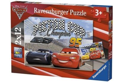 Ravensburger 07609 - Verdák 3 - 2 x 12 db-os puzzle