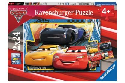Ravensburger 07810 - Verdák 3 - McQueen, Ramirez, Storm - 2 x 24 db-os puzzle